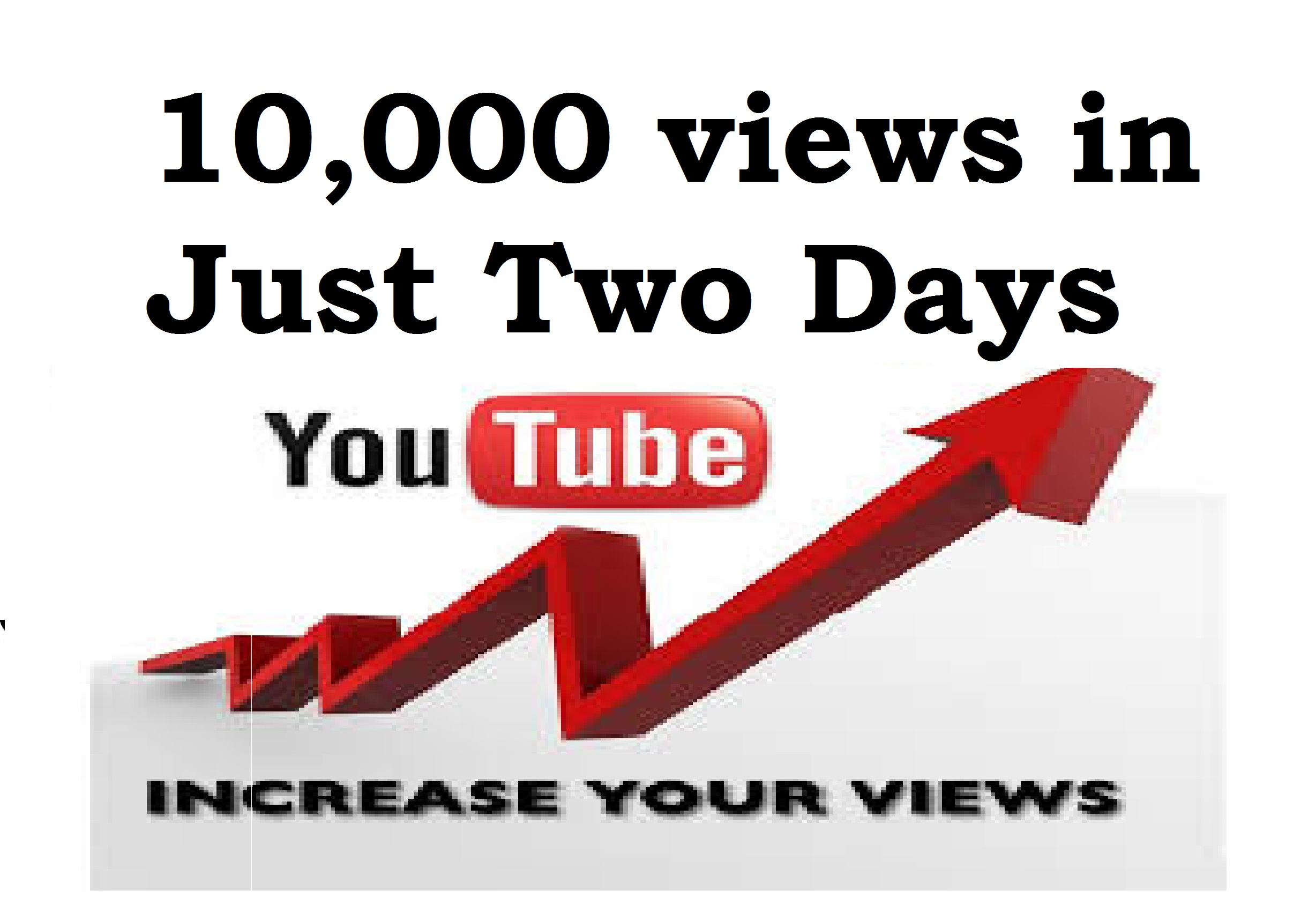How to get 10,000 views in 2 days with proof? YouTube Free