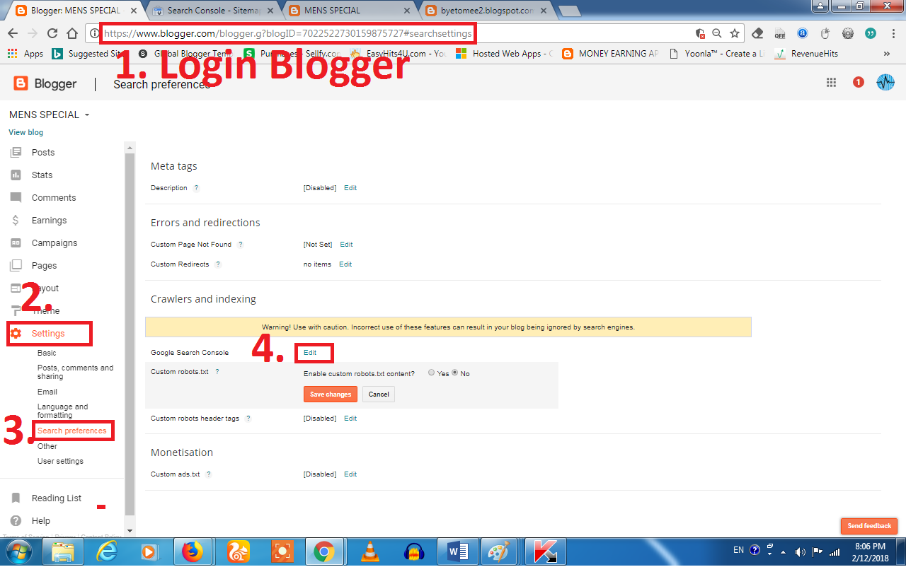 How to Generate XML Sitemap for BlogSpot or any Blogger ...