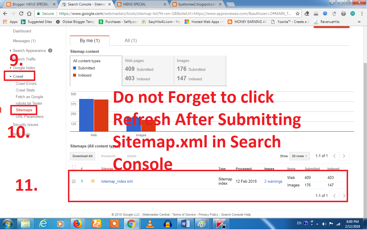 generate xml sitemap for blogspot2 appreviews