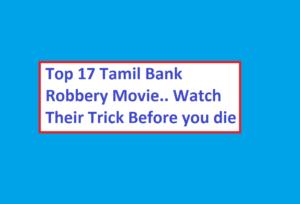 Tamil bank robbery movie