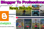 Magma News Responsive Blogger Template Download